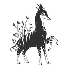 """6,536 Likes, 27 Comments - Miranda Zimmerman (@faunwood) on Instagram: """"「.028」(gr)okapi // sold . . sad that I haven't had many opportunities to really challenge myself…"""""""