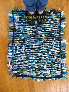 rag rugs out of t shirts