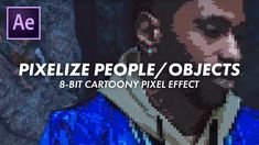 """HOW TO PIXELIZE PEOPLE/OBJECTS: Big Sean """"Jump Out The Window"""" Music Vid..."""