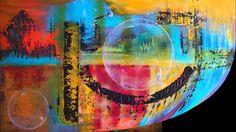 Le Pont des Arts  de Chantal GM Artiste Peintre