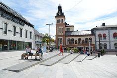 Revitalisation of the historical centre of Tønsberg, Norway - World Landscape Architecture World Landscape Architecture