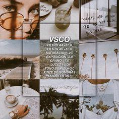Vsco Presets, Lightroom Presets, Vsco Effects, Best Vsco Filters, Vsco Themes, Photo Editing Vsco, Vintage Instagram, Photography Filters, Photo Processing