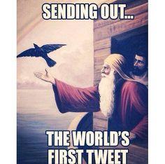 World's first tweet