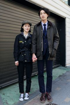 jinyongkim:  Inyoung Hwang & Doowon Jung 23 MARCH, 2013  STEEZY ASIAN DUDES (AND DUDETTES) IN BARBOUR