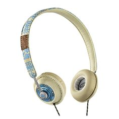 Harambe On-Ear Headphones: Native (Jammin Collection) - $59.99 - Lightweight, comfortable and available in multiple designs, Harambe delivers the look you want and the performance you demand. #HouseOfMarley #LiveMarley #BobMarley http://www.thehouseofmarley.com/headphones/on-ear-headphones/harambe-on-ear-headphones.html