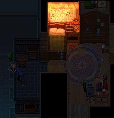 pixel bedroom vaporwave background bit gifs animation anime games