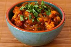 Kalyn's Kitchen®: Lamb Curry Recipe with Cauliflower and Double Cilantro