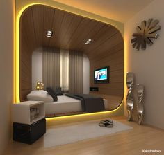 A nice tip for interior design is including various textures or patterns into the room you design.