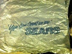 Sears Bag | Flickr - Photo Sharing!