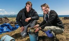 Archaeologist Sarah Parcak, pictured here with BBC presenter Dan Snow, says she may have unearthed a second Viking settlement in North America.  Possible Viking Find Could Rewrite North American history.