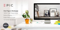 Buy EPIC - Responsive Multipurpose Template by jellythemes on ThemeForest. EPIC is a fully responsive Retina enabled One Page and Muti Page Theme suitable for any kind of creative or bu. Theme Forest, Sticky Navigation, Themes Free, Website Themes, Wordpress Template, Retina Display, Blogger Templates, Premium Wordpress Themes, Website Template
