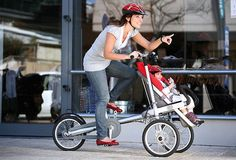 Get your workout on with your little one.