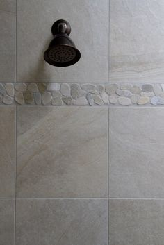 Master Bath Dune By Campogalliano Like The Rock Tile Border For The Shower