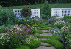 READER PHOTOS! Veronica's garden in New Hampshire