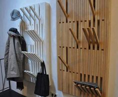 Coat Racks and Creative Shelving For Your Home.