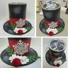 Sombrero navideño con material reciclado - Dale Detalles