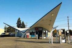 Retro Gas Stations
