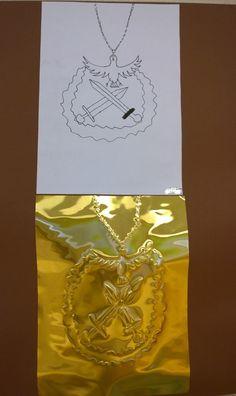 Kalevala Lyijykynällä metallille Handicraft, Art Ideas, 3d, School, Historia, Craft, Craft Items, Schools