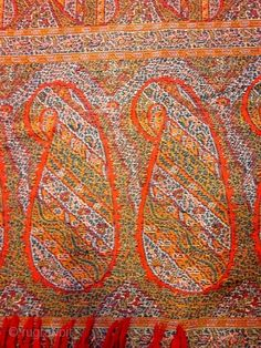 Indian Paisley Shawl