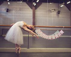 Gorgeous Ballerina Party Inspiration on The TomKat Studio blog