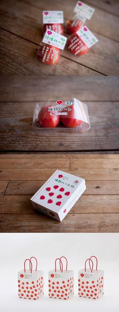 Sweet Japanese tomato packaging PD