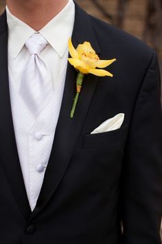 Groom's look... Who knew the groom had to wear an ivory shirt to match the brides dress for photo white balance?!?