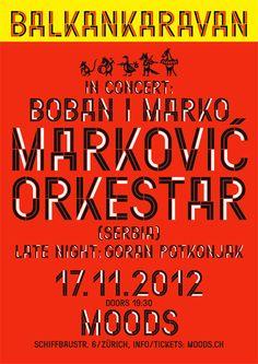 Moiré | Boban Markovic Orkestar poster
