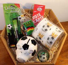 Geburtstag Geschenke Box Fussball Fan Fussball Geldgeschenk