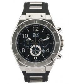 Reloj S&S Mod. SS-1905-OS2A Negro