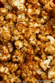 The best Caramel Popcorn recipe! You will be thankful that it is easy to make because it disappears fast and leaves everyone asking for more!
