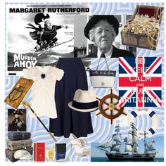 """Agatha Christie's Murder Ahoy"" by debbieday on Polyvore"