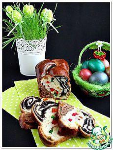 "Плетенка ""Праздничная"" - кулинарный рецепт Pan Dulce, Bread Recipes, Cake Recipes, Italian Easter Bread, Fruit Bread, Bread And Pastries, No Cook Desserts, Russian Recipes, Easter Recipes"