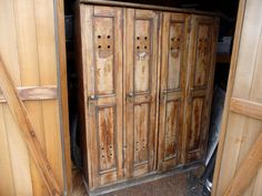 wooden lockers for home storage | These gorgeous antique coast guard lockers can be found online…but I ...