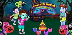 #HalloweenGame  Let your #Child be a part of this #HalloweenBirthdayParty #CelebrationGame & have #Fun to #CelebrateBirthday in a #HalloweeTheme. Birthday Games For Kids, Fun Games For Kids, Games For Toddlers, Kids Party Games, Birthday Party Games, Halloween Birthday, Free Halloween Games, Halloween Themes, Halloween Decorations