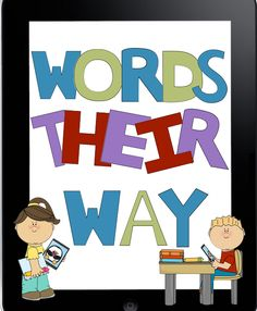 We're Using iPads in 2nd Grade!: Words Their Way iPad Style