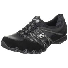457af31b70df Skechers Women s Bikers-Dream-Come-True W US Smooth leather upper Cushioned  insole Shock absorbing midsole Flexible rubber traction outsole Fabric