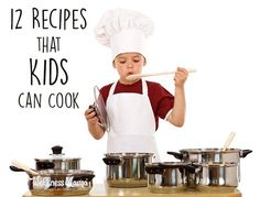 These simple recipes kids can cook are a great way to let children start helping in the kitchen. They love it and you'll love the help!
