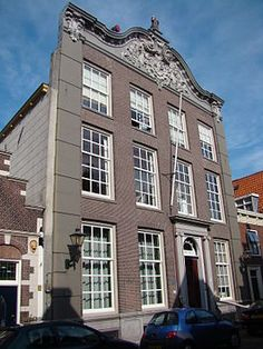 Het oude stadhuis van Monnickendam 1746 in rococo stijl Rococo, Old Town, Holland, 19th Century, Multi Story Building, Van, Interiors, World, Places
