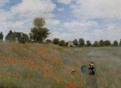 Poppies -Claude Monet