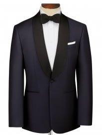 Midnight-blue-slim-fit-shawl-collar-dinner-suit-jacket