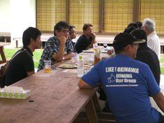 Facebook沖縄ユーザーグループのビーチパーティにて金武町のネイチャーみらい館を利用させていただきました(2012/06/16~17)。ビーチクリーンの様子とビーチパーティの風景です。  https://www.facebook.com/Kin.okinawa