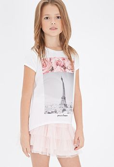 Paris Dreamer Graphic Tee (Kids) | Forever 21 girls - 2000079843