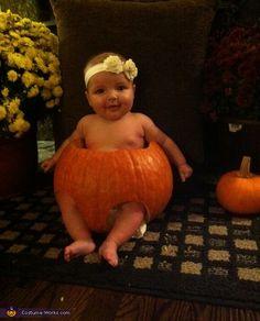"Pumpkin ""cutie"" Pie - 2012 Halloween Costume Contest"