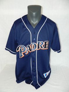Vintage 1969 -1999 Russell Athletic Canada San Diego Padres XL Baseball Jersey  #RussellAthletic #SanDiegoPadres