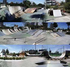 Skateboarding is Live - Los 10 mejores skateparks del mundo Backyard Skatepark, Skateboard Ramps, Urban Setting, Skate Park, Wakeboarding, Outdoor Recreation, Places To Visit, Around The Worlds, Exterior