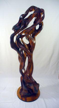 Hawaii wood sculptures