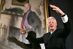 Bill Clinton Portrait Has Hidden Monica Lewinsky Reference, Painter Says -  NBC News