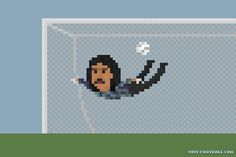 Higuita's Scorpion Kick Save by 8bit