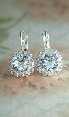 1920s Bridal Earrings Vintage Bridal Earrings by LottieDaDesigns, $56.00