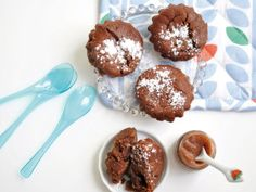 chestnut puree & chocolate fondants (french)